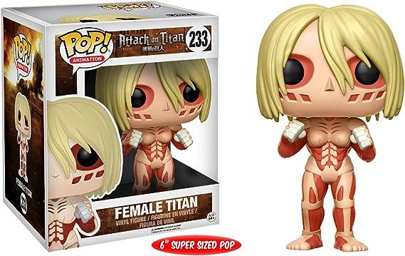 Funko Pop!- Female Figura de Vinilo, seria Attack on Titan (4366): Amazon.es: Juguetes y juegos