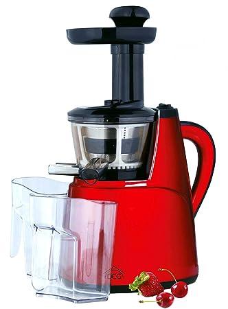 Licuadora eléctrica/extractor de zumos de frutas y verduras que conserva todos los nutrientes y