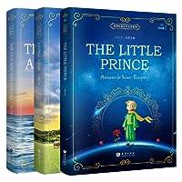 原版经典名著系列读物:小王子+老人与海+动物庄园(全英文版)(套装共3册)