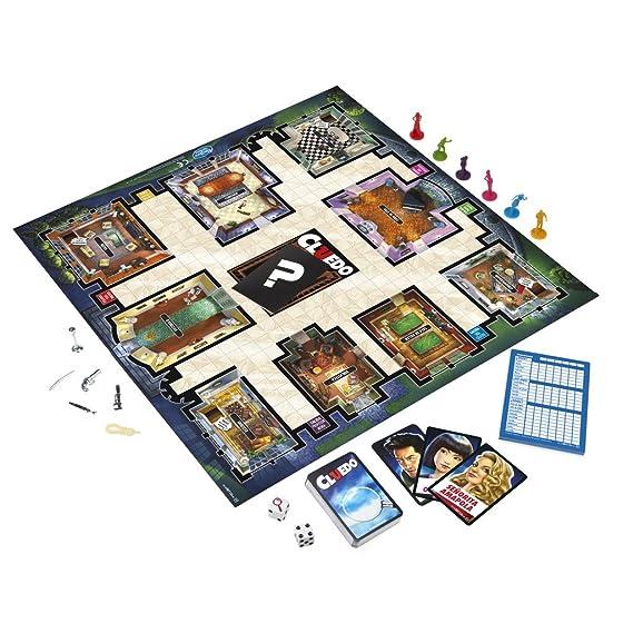 Hasbro Gaming Gaming clasico Cluedo (Versión Española), Miscelanea (38712546)