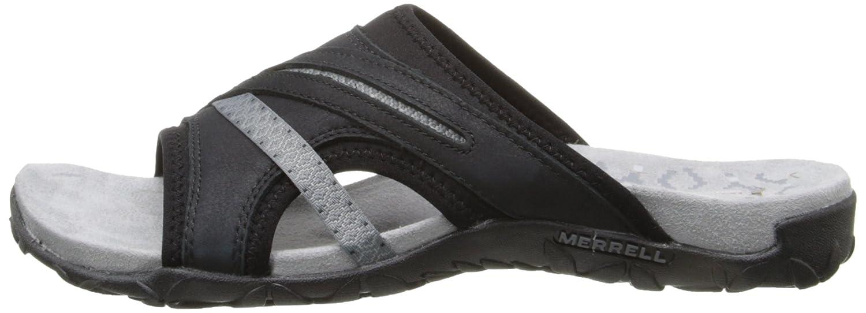 Merrell Women's Terran Slide II Sandal B00YDKHGD2 10 B(M) US Black