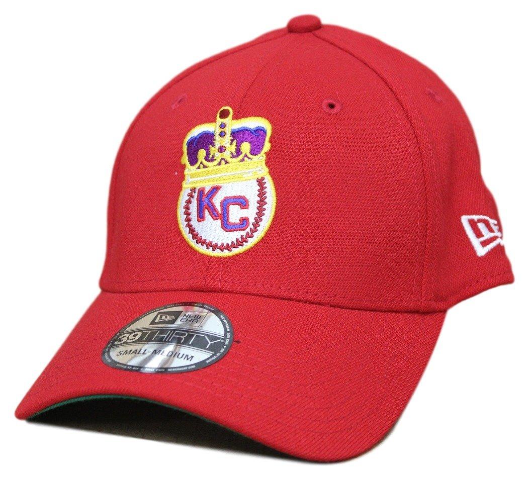 2b9e785b Amazon.com : Kansas City Monarchs New Era 39THIRTY Negro League Classic  Custom Flex Fit Hat : Clothing