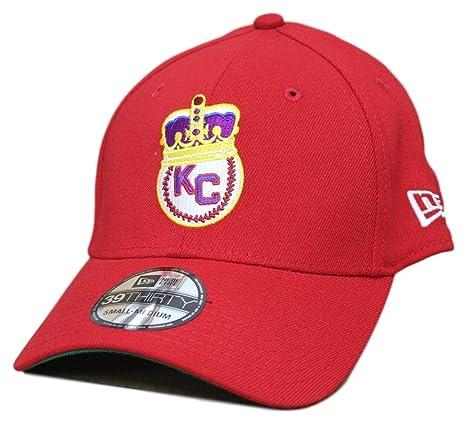 a430dbfcc237a Kansas City Monarchs New Era 39THIRTY Negro League Classic Custom Flex Fit  Hat