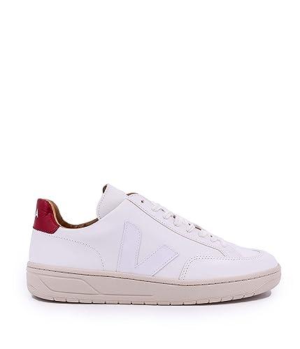 Veja Zapatillas de Piel Para Hombre Blanco Bianco: Amazon.es: Zapatos y complementos