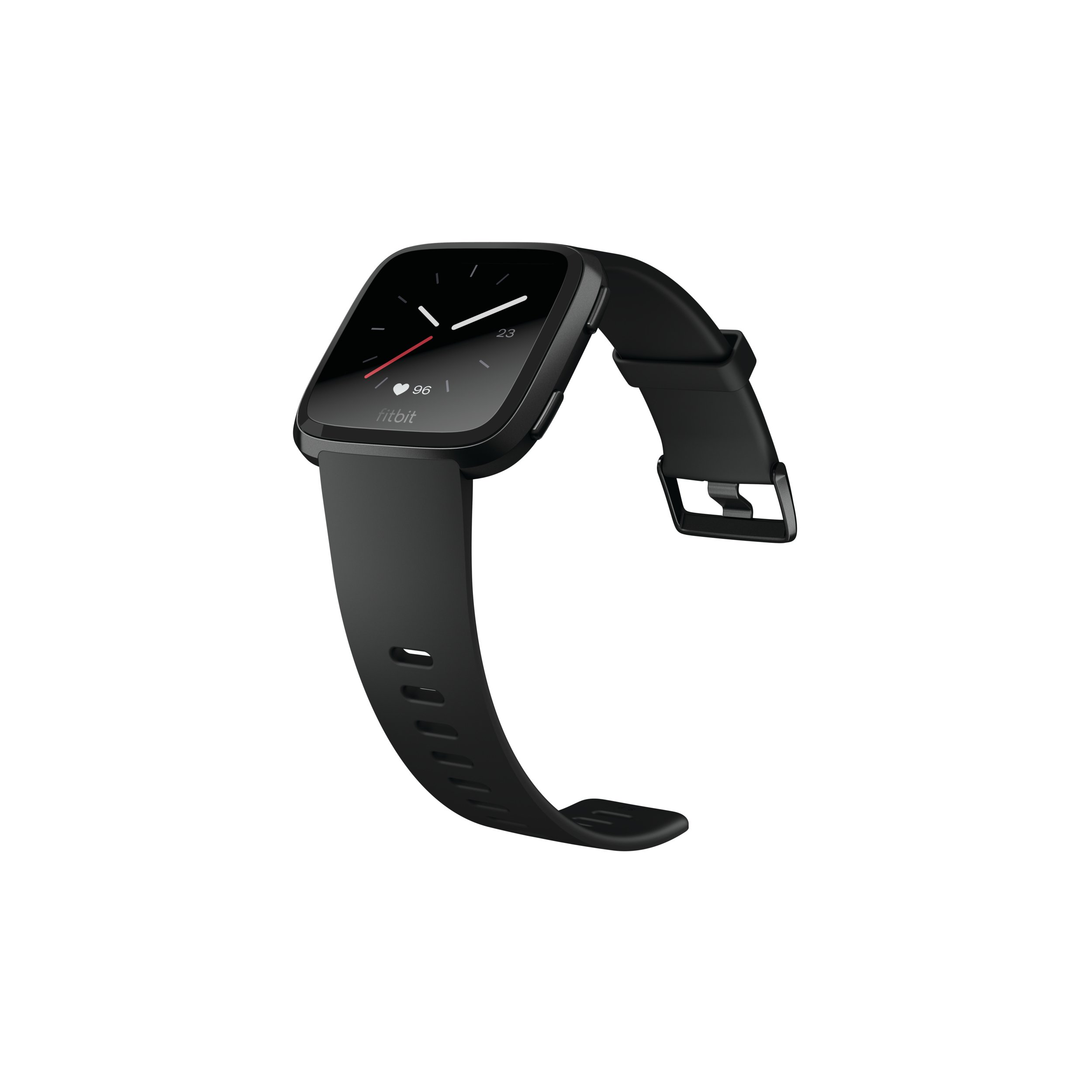 Fitbit Versa Smartwatch, Black/Black Aluminium, One Size (S & L Bands Included) by Fitbit (Image #4)