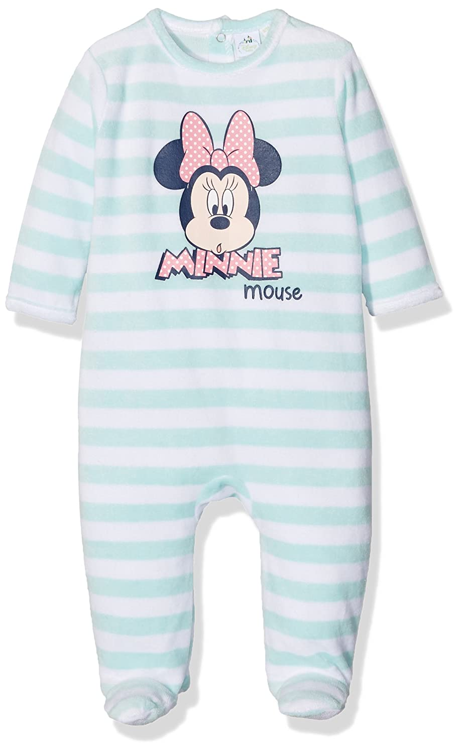 Disney Baby Girls' Blue Sleepsuit EP0311