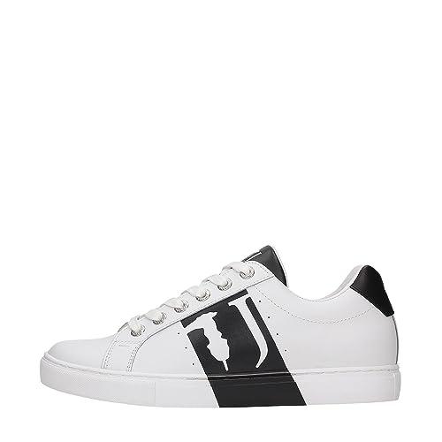 Trussardi Jeans 77S527 Sneakers Uomo BIANCO NERO 40  Amazon.it  Scarpe e  borse 7c46f1306c8