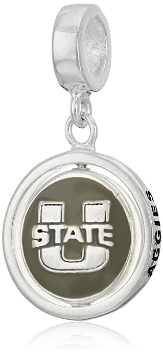 c4ae6f31f Amazon.com: Persona Sterling Silver Utah State University Beads and Charms:  Jewelry