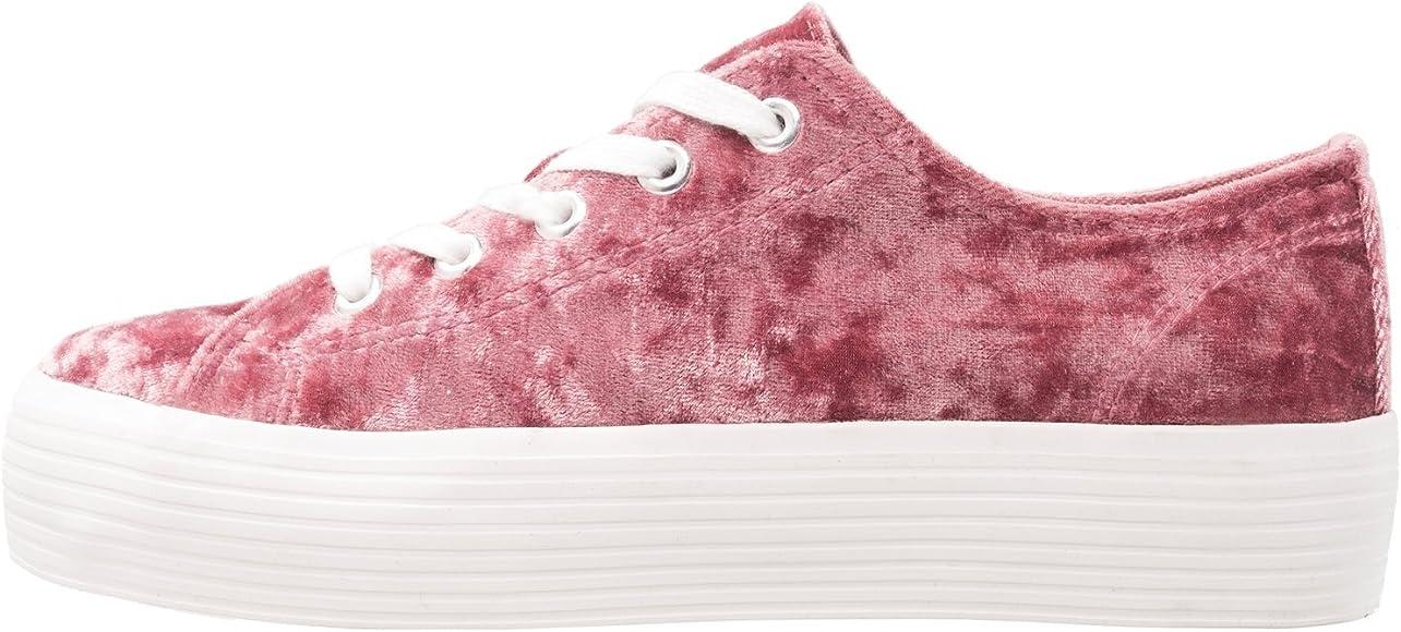 ca3a98a5b6 Even&ODD Sneakers da Donna con Plateau - Scarpa con Lacci Casual in ...