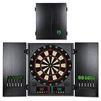 Elektronische Dartscheibe CBX-180 - Michael van Gerwen Dartboard - Dartspiel - Dart - inkl. Dartpfeile