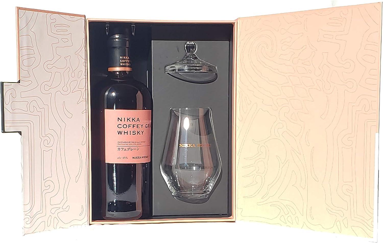NIKKA Coffey Grain WHISKY japonés - Estuche regalo - Botella 70 cl. + Vaso de cata: Amazon.es: Alimentación y bebidas
