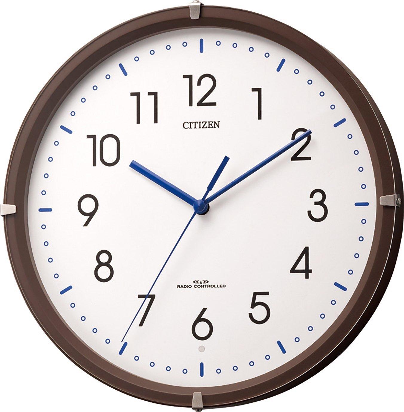 CITIZEN 電波夜眠る運針 シンプルモードミニ 茶色半艶仕上げ 4MYA23-006 B00GXT1F60
