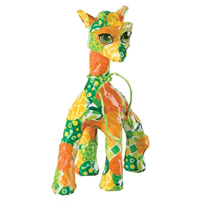 Melissa & Doug Decoupage Made Easy Craft Set - Giraffe: Toys & Games