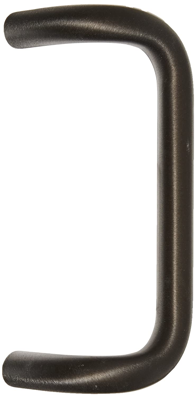 Through Bolt Mounting for 1-3//4 Door Extra Dark Bronze Anodized Finish 1 Diameter x 9 Center-to-Center Rockwood BF157A.314 Aluminum 90-Degree Offset Door Pull