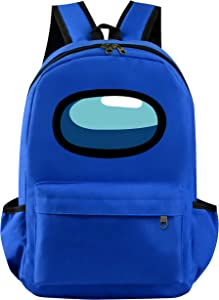 Among Us Backpack For Kids Boys Girls Children School Daypack Game Bookbag Hiking Sports Outdoor Work Laptop Bags Dark Blue