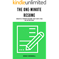 The One-Minute Resume Workbook