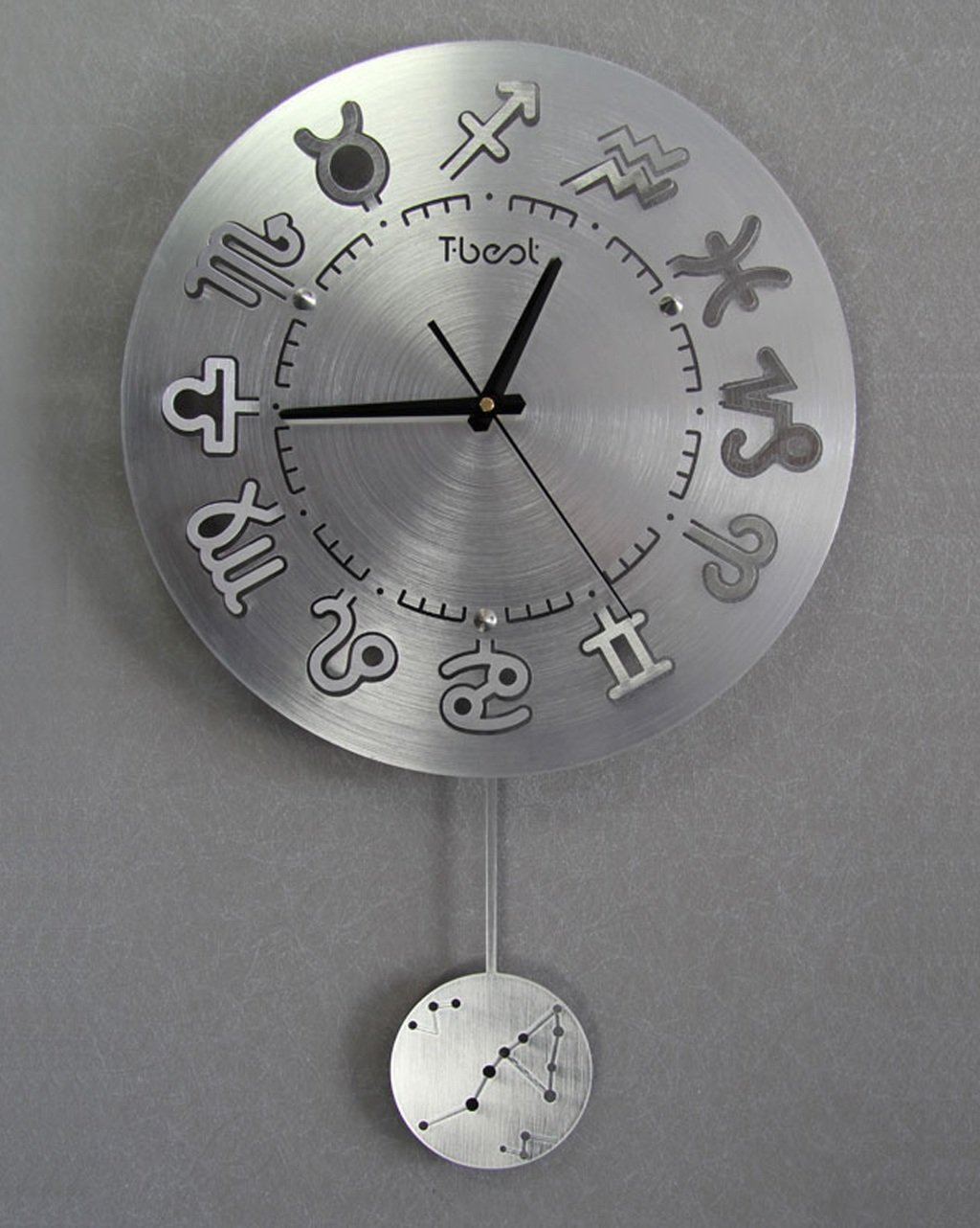 ZHENAI スタイリッシュなリビングルームミュートアート壁掛け時計、ヨーロッパスタイルのパーソナライズされた時計現代壁時計 ( 色 : A , サイズ さいず : 16 Inches ) B07BK2SKGFA 16 Inches