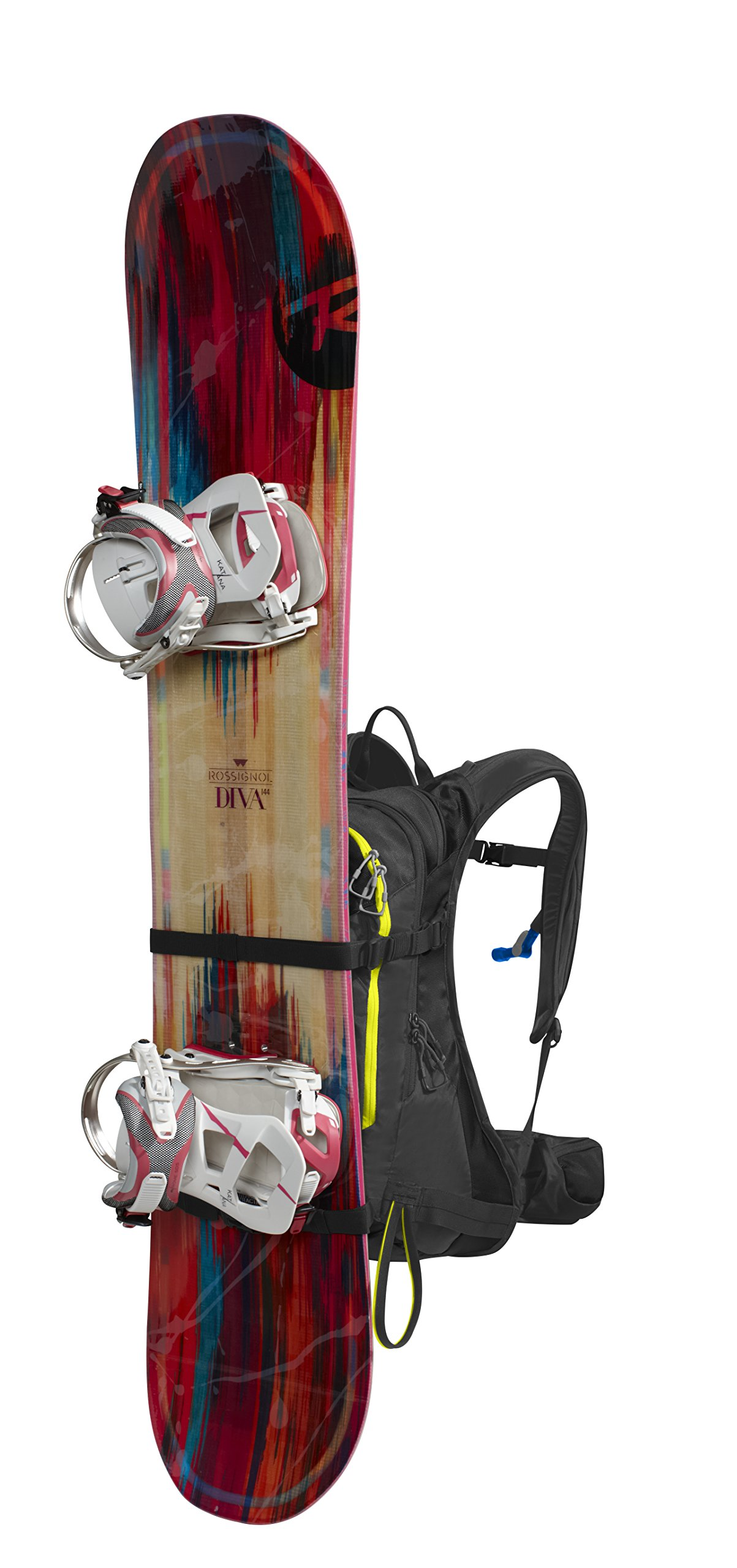 Camelbak Phantom LR 24 Ski Hydration Pack, Black/Sulphur Springs (3L/100oz) by CamelBak (Image #8)