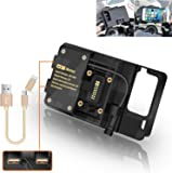 R&P for BMW R1200GS Mobile Phone Navigation Bracket ADV F700 800GS CRF1000L Africa Twin for Honda Motorcycle USB…