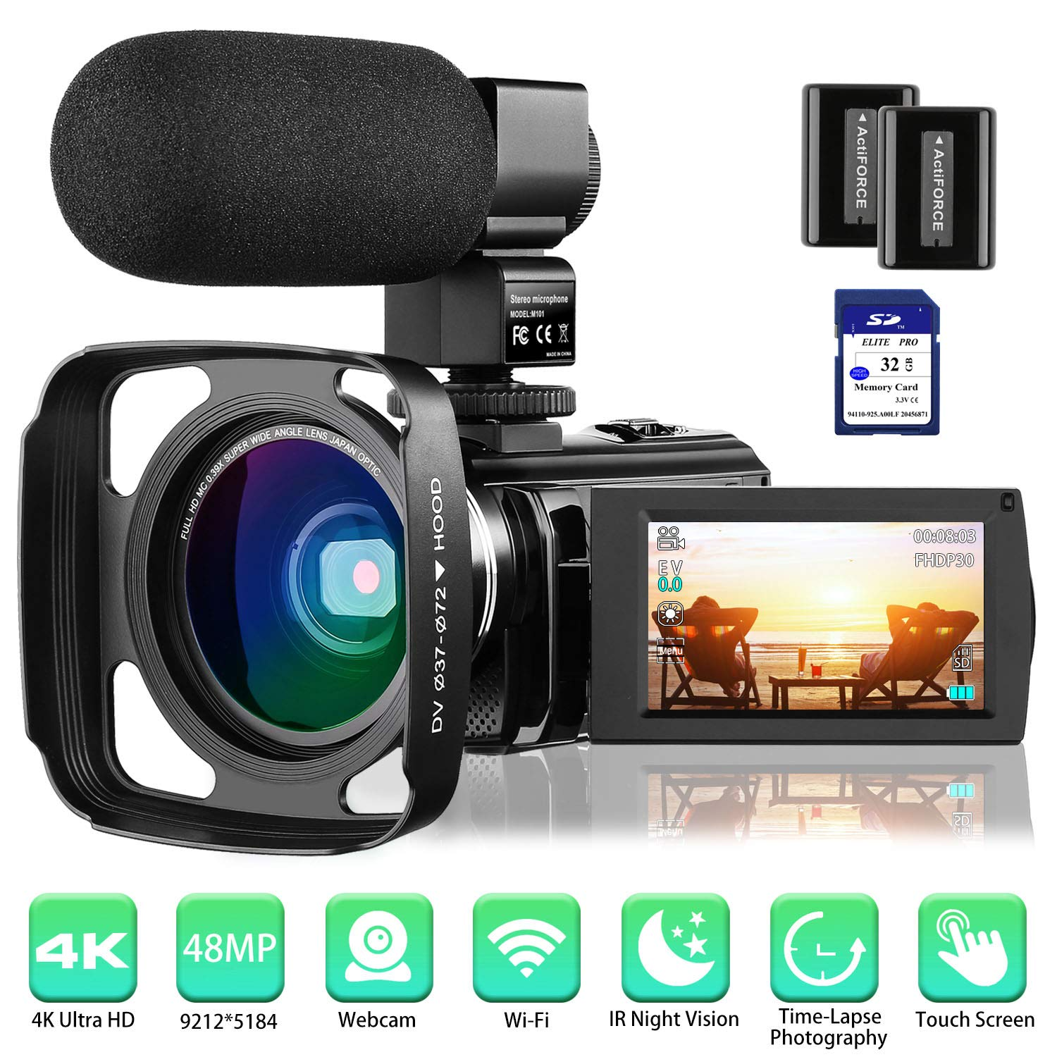 8 Best Camcorder under 500 in 2020 buying guides 6