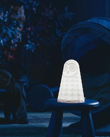 Ikea solbo lámpara de mesa búho blanco: Amazon.es: Iluminación