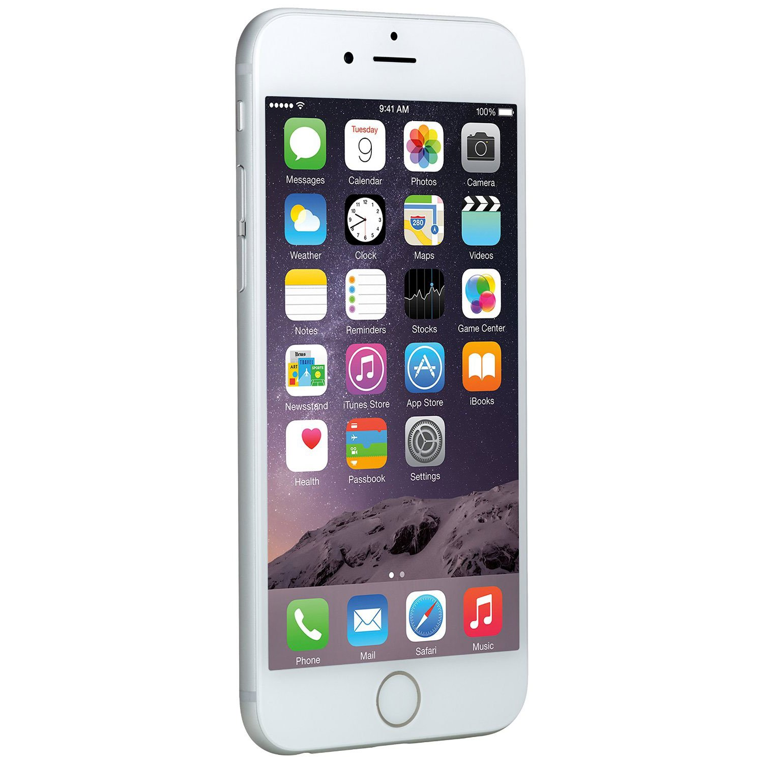 Apple iPhone 6 64 GB AT&T, Silver (Certified Refurbished) by Apple