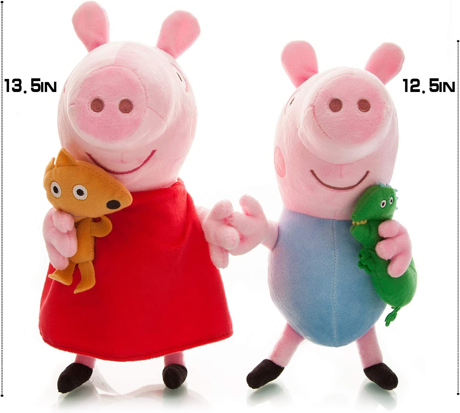 Plush Pig Baby Toys 2pcs Size 13.5 12.5 Toys for Babies Toys ...