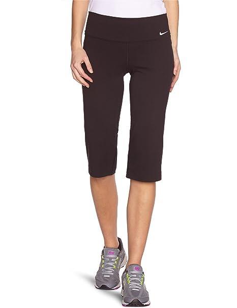 16e2b62f9f Amazon.com: Nike Legend 2.0 Women's Regular Cotton Capri Workout Pants - X  Small - Black: Clothing