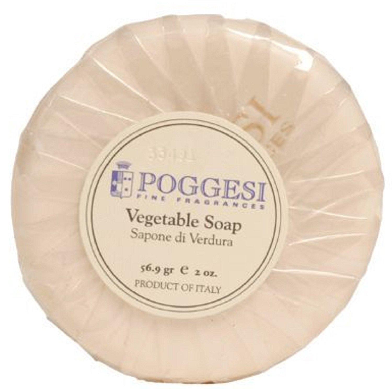 Poggesi Vegetable Soap Lot of 12 Each 2oz Bath Bars Total of 24oz