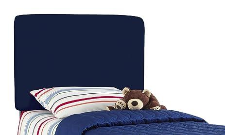 Aaronu0027S Full Kids Headboard By Skyline Furniture In Navy Cotton
