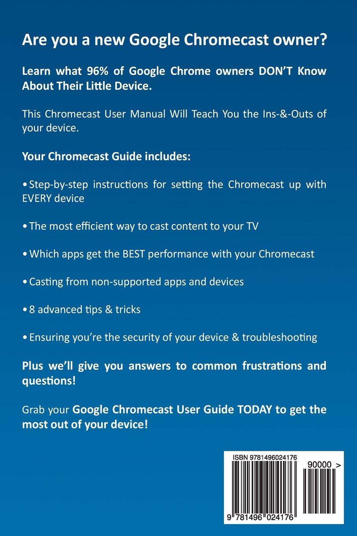 Chromecast Manual Supercharge Your Google Chromecast Experience