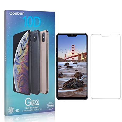 Conber Screen Protector for LG G7, (3 Pack) 9H Tempered Glass Film Screen Protector for LG G7 [Shatterproof][Scratch-Resistant]: Baby