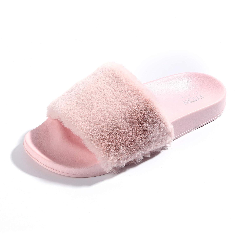 b65f65cc183 FITORY Women Slides Slippers
