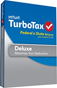 [Old Version] TurboTax Deluxe Fed, Efile and State 2013