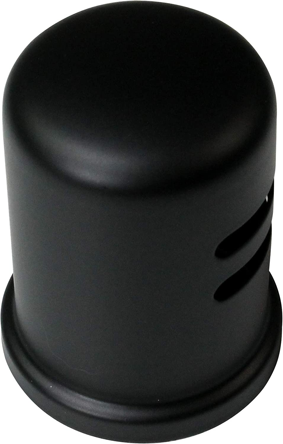 Westbrass D201-1-62 Air Gap Cap, Matte Black