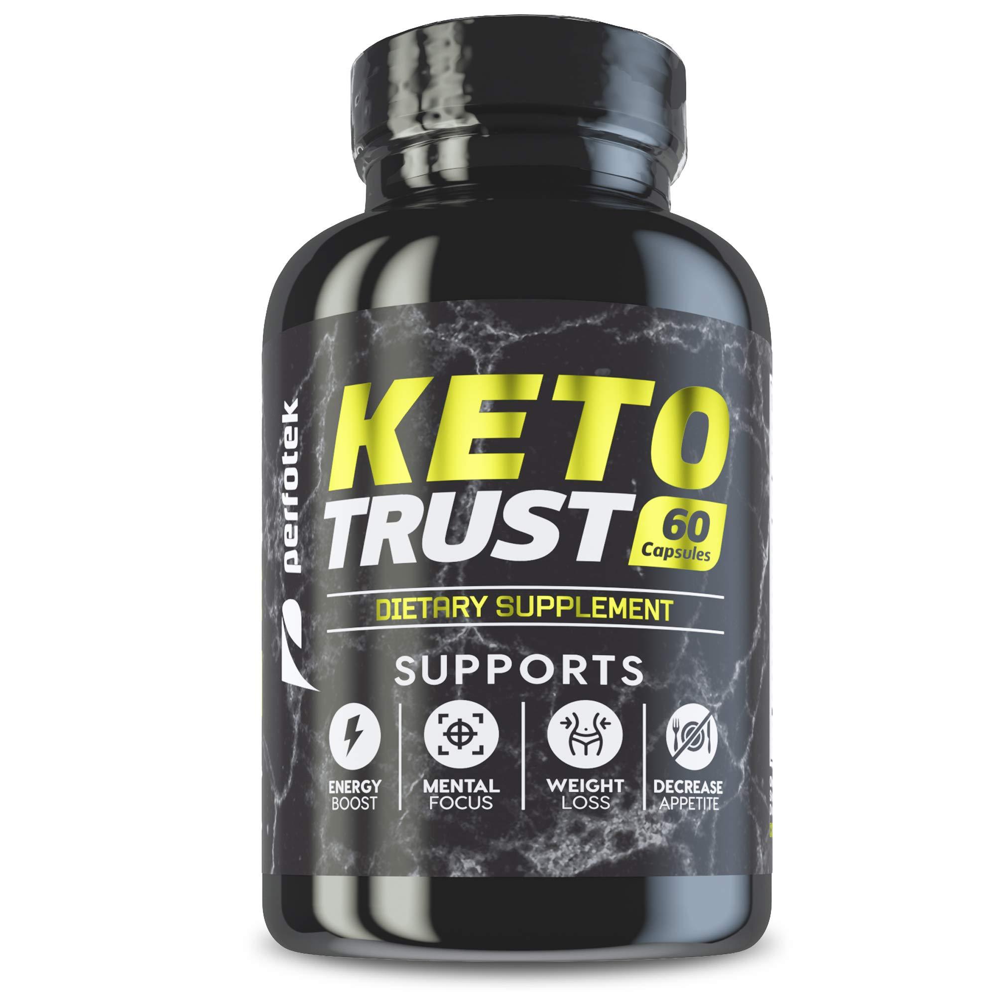 6 Pack Perfotek Keto Diet Pills Weight Loss Supplement Fat Burner