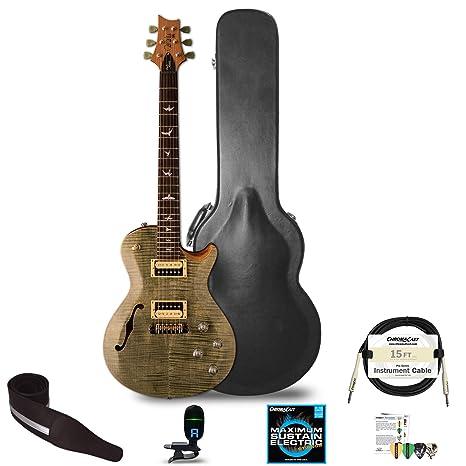 PRS SE Zach Myers de la película Semi-Hollow guitarra eléctrica con ChromaCast accesorios