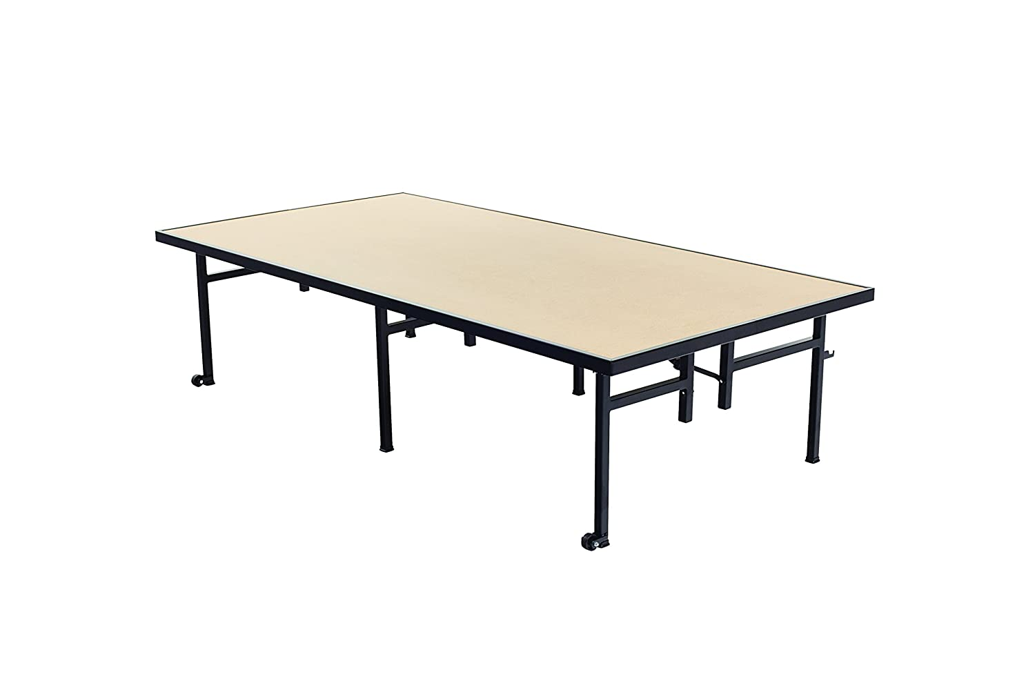 Amtab St3816h Fixed Height Stage Hardboard Top 36 W X 96 L X 16 H 100 Made In The Usa Amtab Industrial Scientific