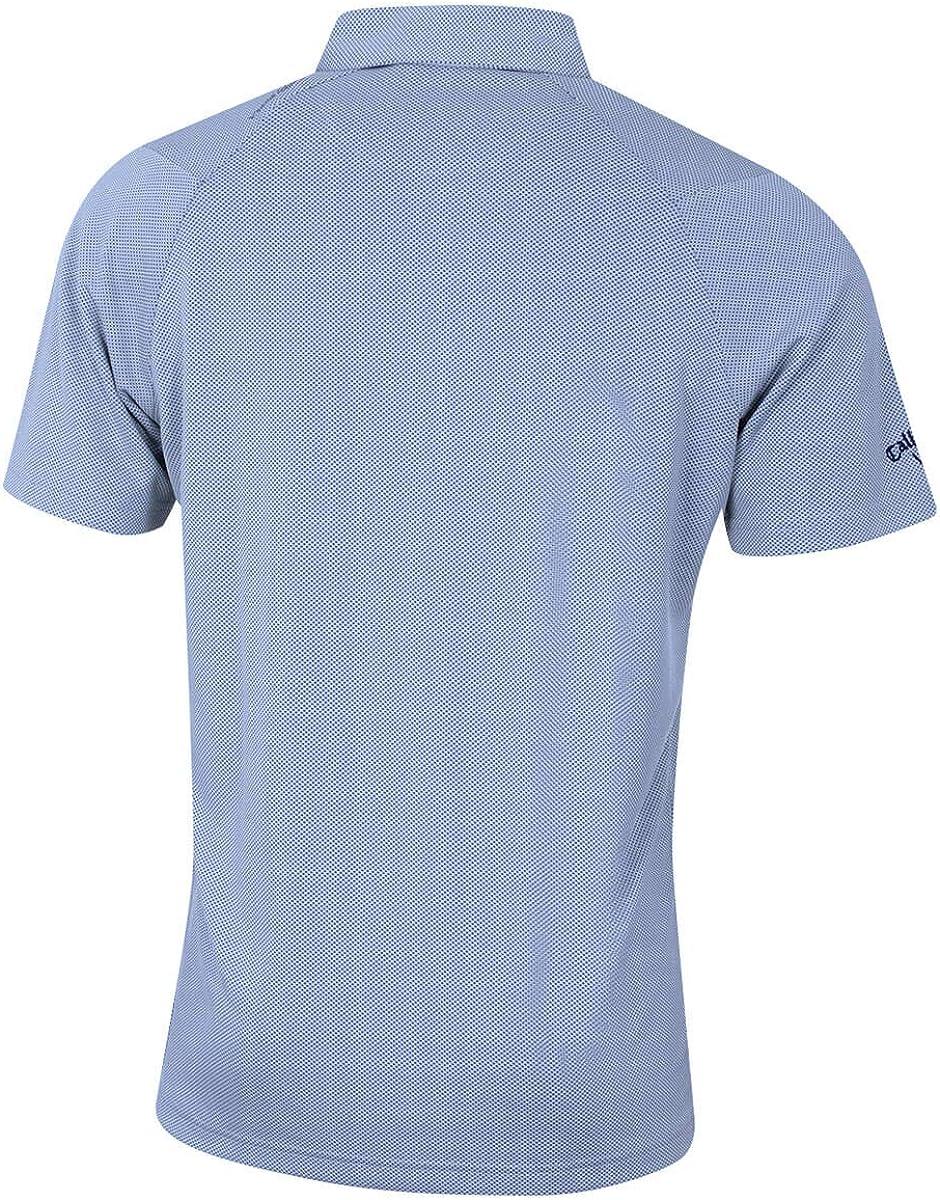 Callaway Mens Jacquard Polo Shirt