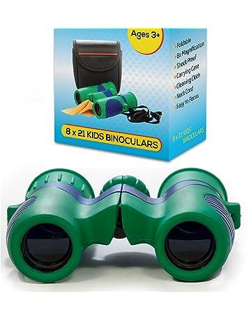 b744fc82f3 Kidwinz Shock Proof 8x21 Kids Binoculars Set High Resolution Real Optics -  Bird Watching - Presents