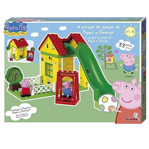 Peppa Pig  Parque de Juegos juego de construccin Simba 4344544