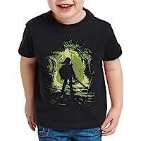 style3 Link Explorer Camiseta para Niños T-Shirt Hyrule Gamer Switch