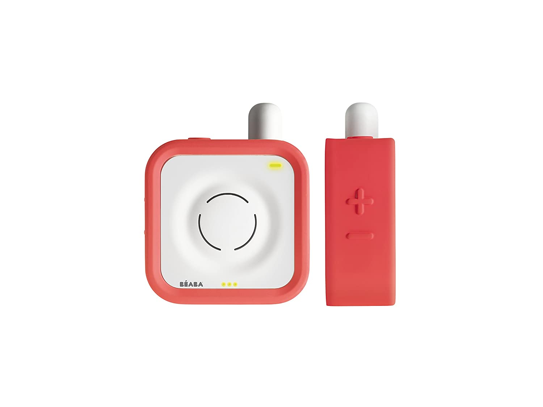 Coral Pink Beaba Audio Baby Monitor