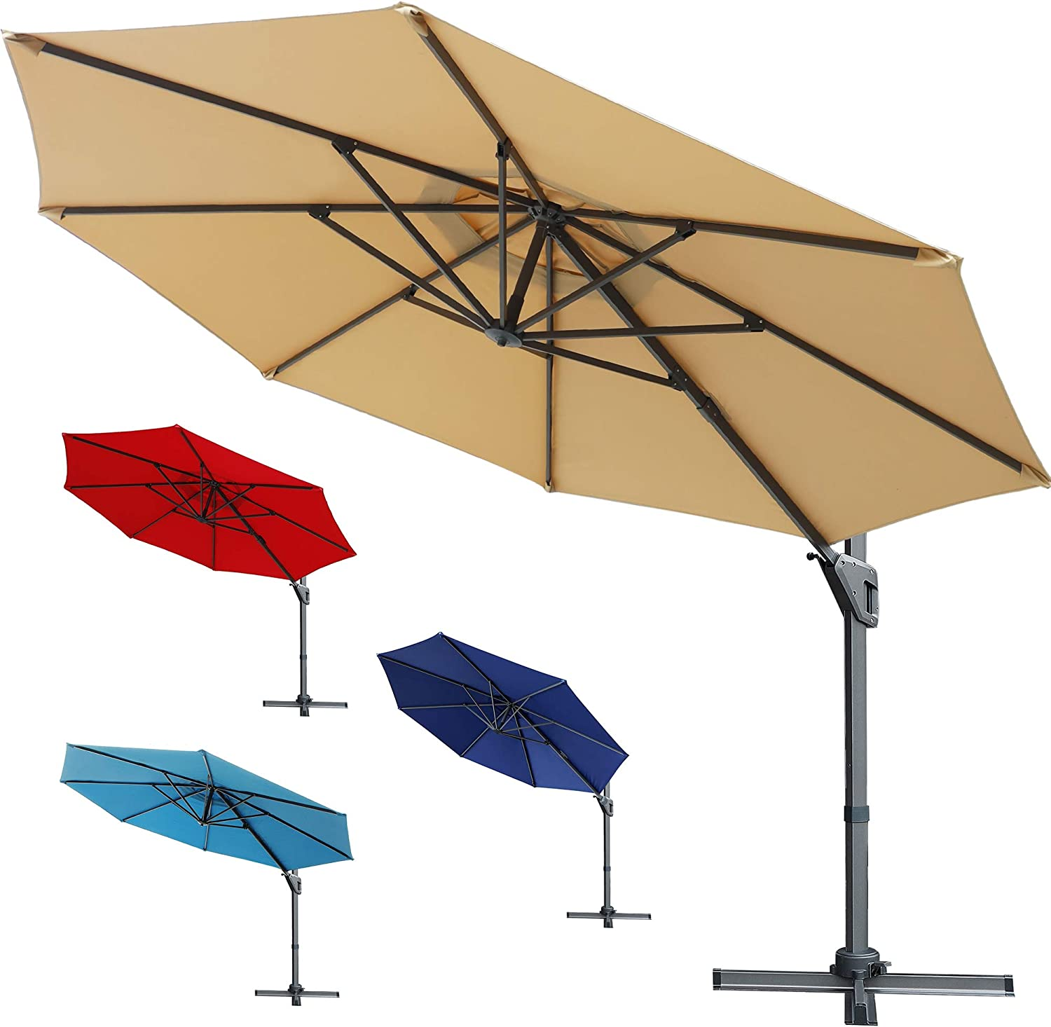 10 Best Patio Umbrella for Windy Conditions in 2021 1