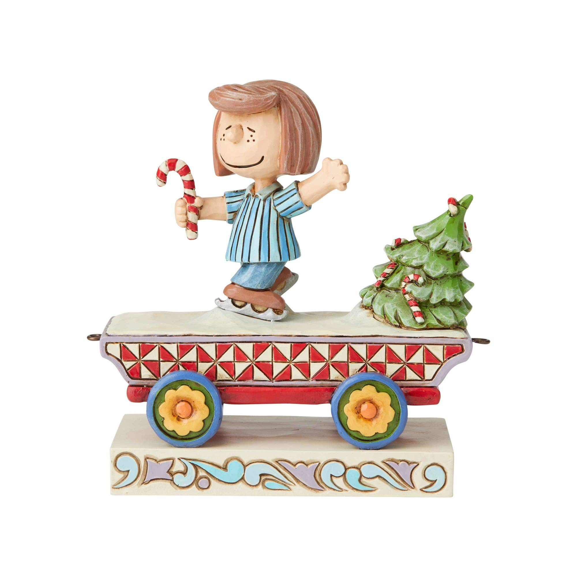 Enesco Peanuts by Jim Shore Peppermint Patty Train by Enesco