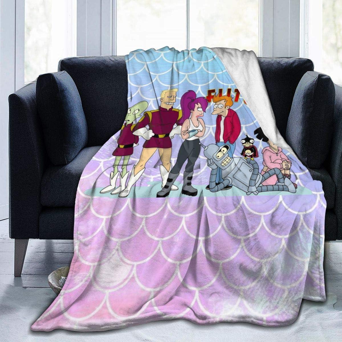 Amazon Com Hguftu5du Futurama Bender Living Room Bedroom Leisure Blanket Super Soft Air Conditioning Quilt Home Kitchen
