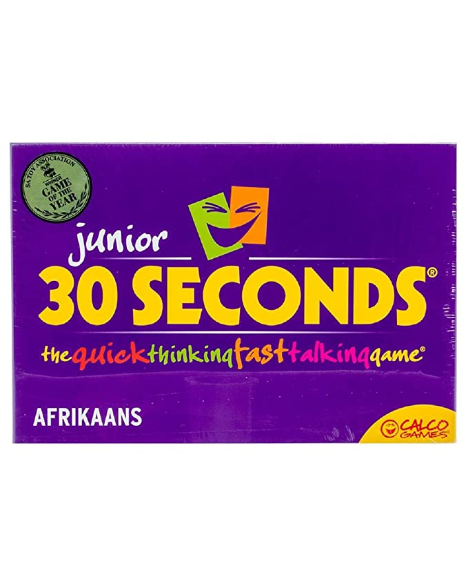 30 Seconds Junior Game The Quick Thinking Fast Talking Board Game for Kids