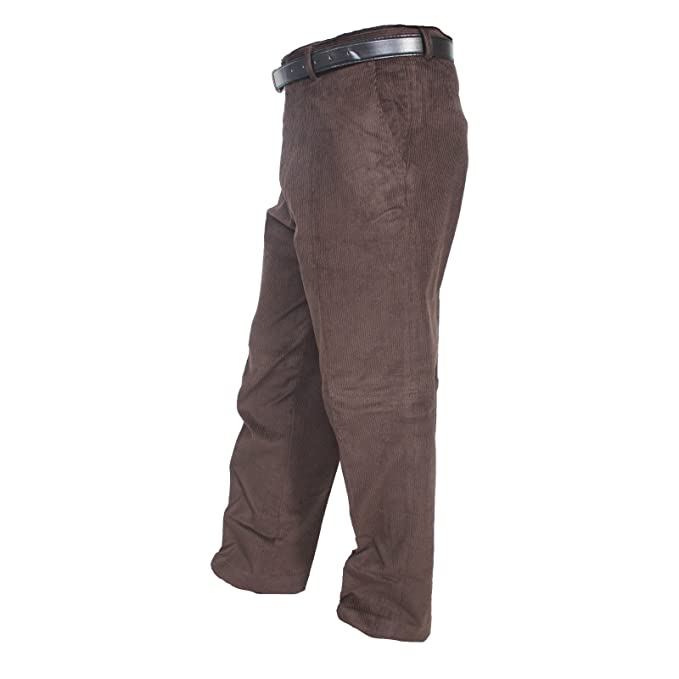 6cff43a4881d Insight Clothing Mens Thick Jumbo Corduroy / Cord Trousers : Inside  Leg:31