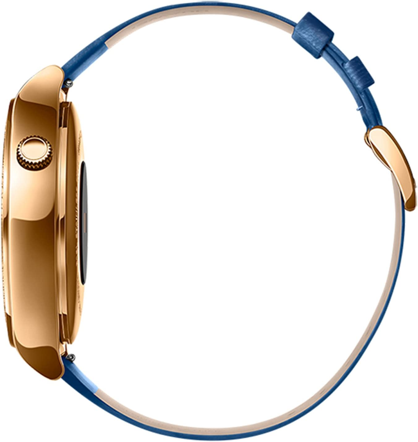 Huawei Smartwatch for iPhone, Android Smartphones - Retail Packaging - Gold/Sapphire