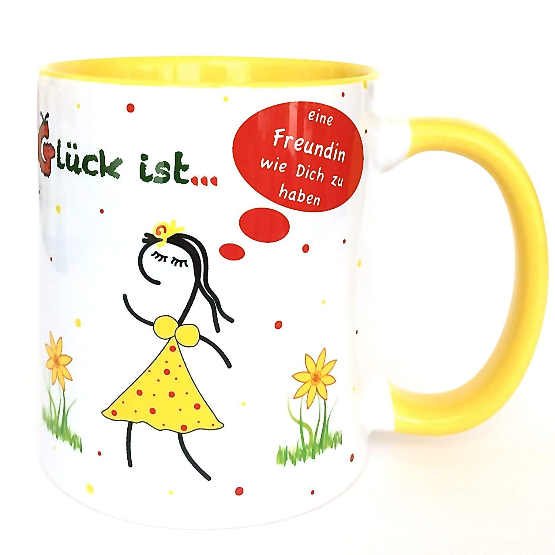 beste Freundin, Geschenk für Freundin, beste Freundin Tasse, Glück ...